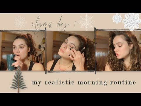 my-realistic-morning-routine-|-vlogmas-2019-day-1
