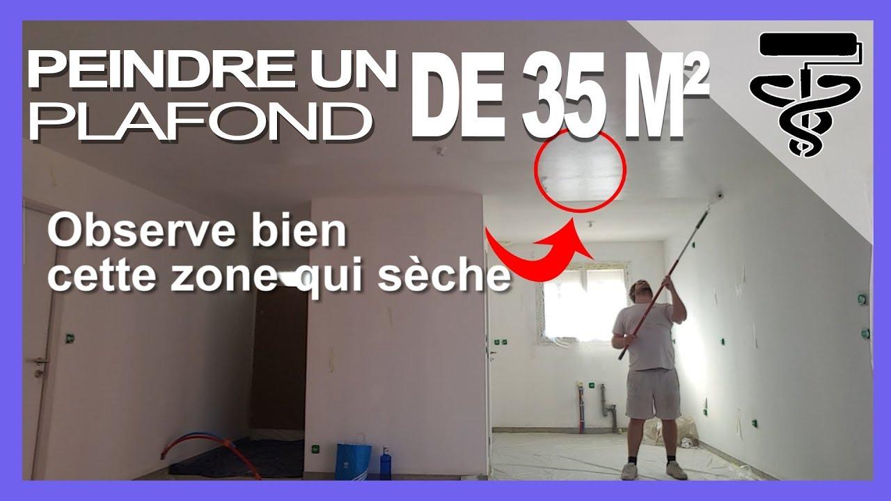 Tuto comment peindre un grand plafond comme un pro et sans - Video comment peindre un plafond ...
