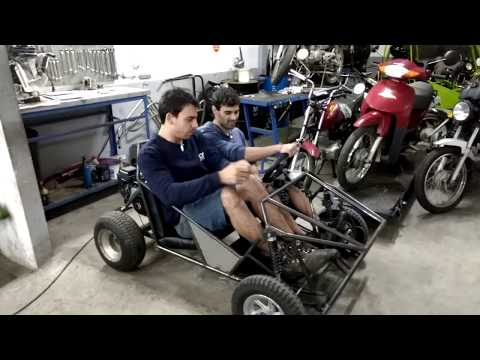 Buggy kart cross - FASE 39 -  Faça você mesmo -  Encapando banco