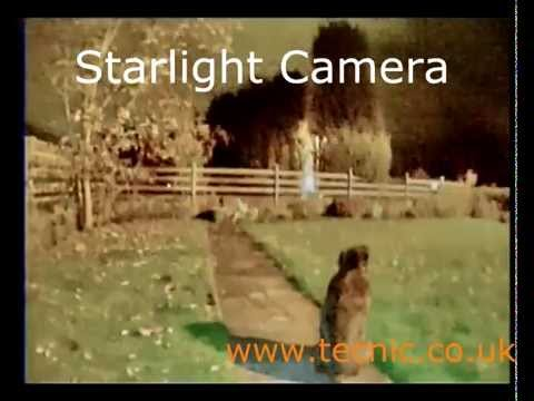 0.00008 Lux Starlight Camera From Tecnic Daytime Lens Fitted