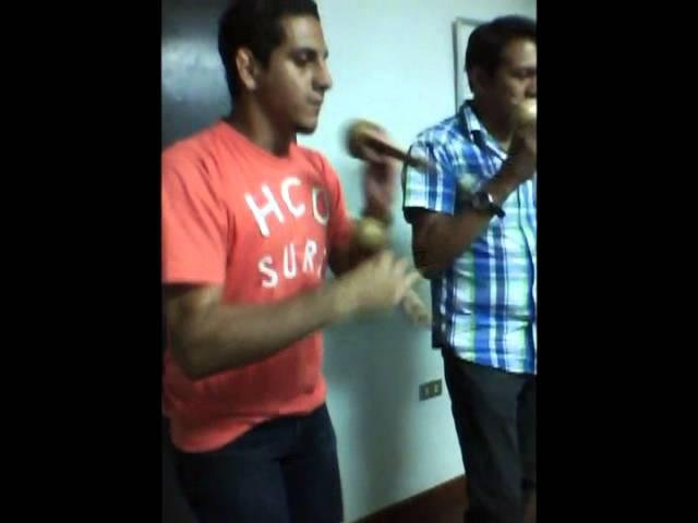 Carlos Perez Y Ernesto Laya  Layita Muestra De Lectura De Repiques De Maracas Venezolanas