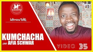 KUMCHACHA explains his Bruhaha with AFIA SCHWAR on #MagrahebTV