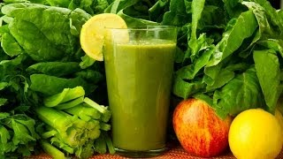 Glowing Green Smoothie Recipe For Great Skin & Weight Loss.