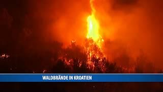 Waldbrände In Kroatien