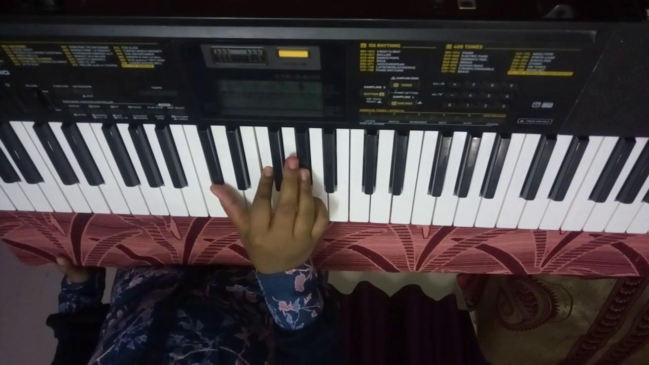 How To Play Lakdi Ki Kaathi On Keyboard Youtube