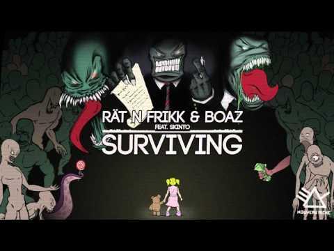 Rät N FrikK & Boaz van de Beatz feat. Skinto - Surviving