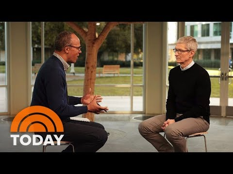 Apple CEO Tim Cook: Social Media Is 'Being Used To Divide Us' | TODAY