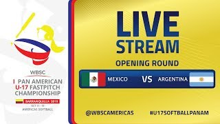 Mexico v Argentina - I U-17 Women's Softball Pan American Championship - Opening Round