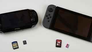 PS Vita vs Nintendo Switch kurzer Vergleich Deutsch/german
