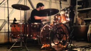 Led Zeppelin - In My Time Of Dying (Drum Cover) w/ Music - Ludwig Amber Vistalite Kit