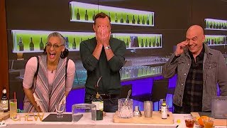 Clinton Makes 3 Delicious Cocktails and a Hilarious Blooper | The Chew
