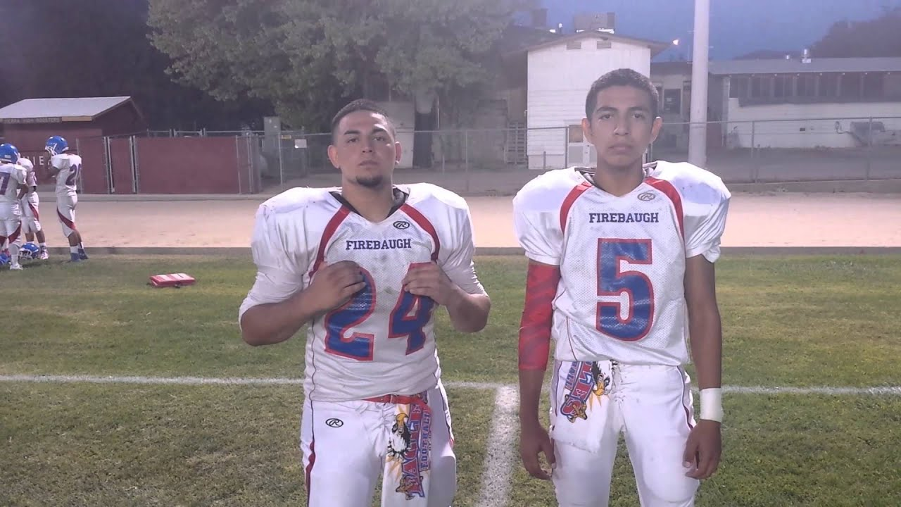 firebaugh football players