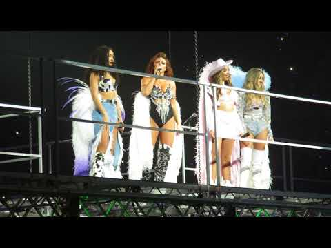 Little Mix  Secret Love Song, Pt II  The Glory Days Tour  at the SSE Hydro on 111117
