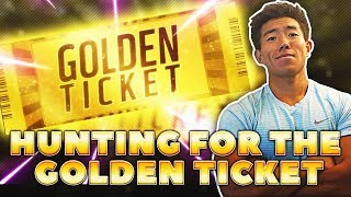 HUNTING FOR THE GOLDEN TICKET! YOU WON
