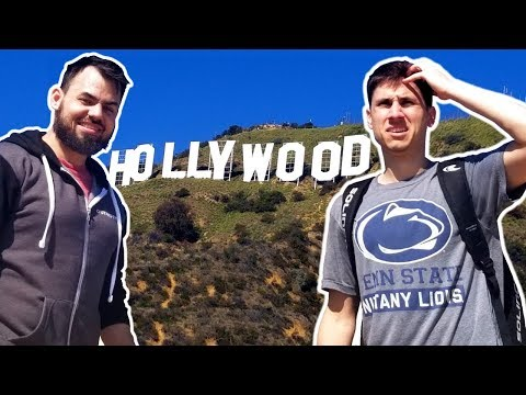 I WENT TO HOLLYWOOD WITH OB! | Travel Vlog