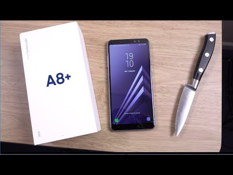 Samsung Galaxy A8 Plus 2018 - Unboxing!