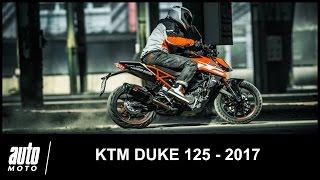 2017 KTM DUKE 125 ESSAI POV AUTO-MOTO.COM