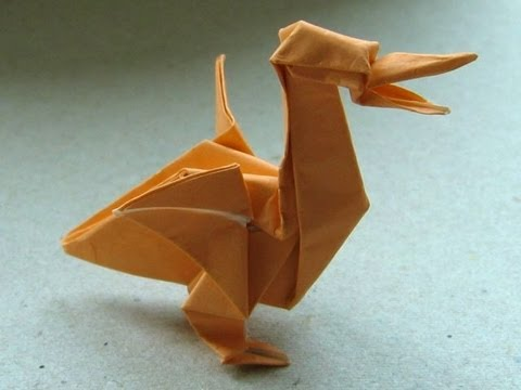 Origami Pelican By John Montroll Youtube