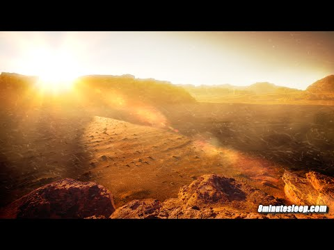 Martian Sandstorm White Noise | Study Sound For Focus, Homework, Writing, Reading & Math | 10 Hours