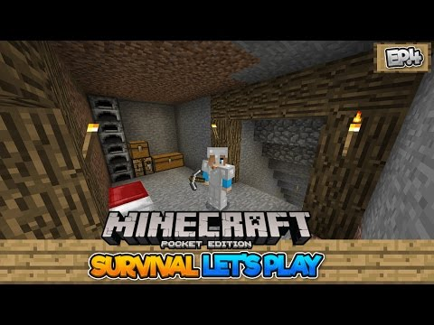 STRIP MINE - MCPE 0.17.0 Survival Let's Play EP.4 - Minecraft PE (Pocket Edition)
