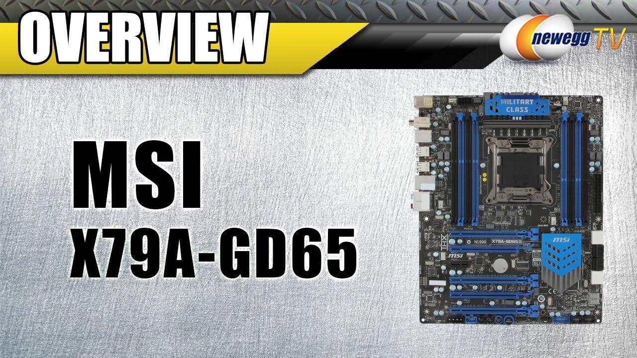 MSI X79A-GD65 (8D) THX TRUSTUDIO PRO DRIVERS FOR WINDOWS