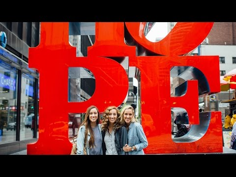 New York City! Broadway, Food, & THE PHANTOM | Gardiner Sisters Vlog