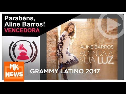 Grammy Latino 2017 - Aline Barros é a vencedora do Grammy Latino (#MKnãoPARA)
