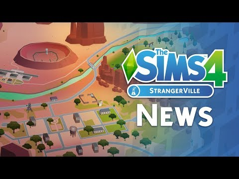 The Sims 4 StrangerVille News: WORLD MAP, New Career and MORE! thumbnail