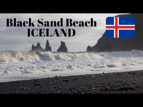 Iceland - Black Sand Beach in Vik
