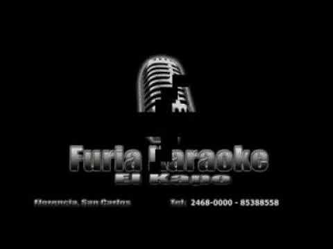 TE HE PERDIDO GRUPO NAME DE CURACAO KARAOKE DEMO FURIA KARAOKE