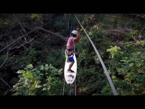 Surf Canopy Tour Mal Pais CR & Surf Canopy Tour Mal Pais CR - YouTube
