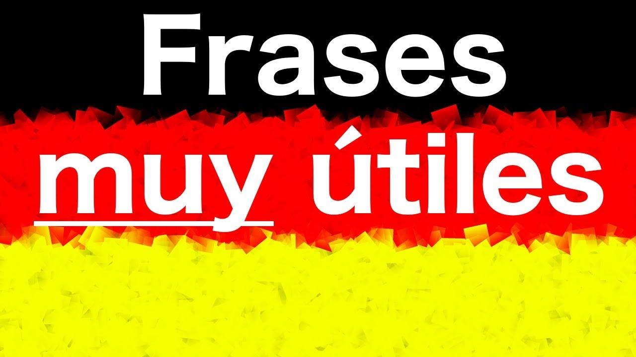 10 Frases En Alemán 6 Frases Muy útiles Para Principiantes