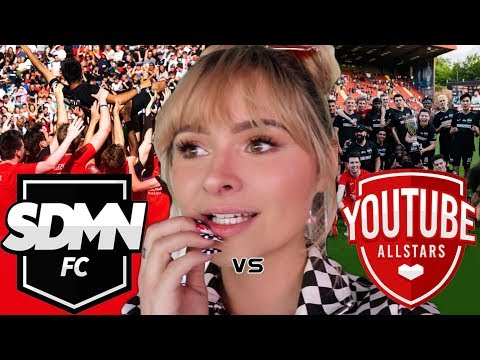 SDMN FC VS YOUTUBE ALLSTARS VLOG/ REACTIONS