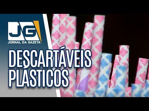 Prefeito de SP sanciona lei que proíbe comércio de fornecer descartáveis plásticos