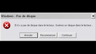 Réparer Erreur Windows: