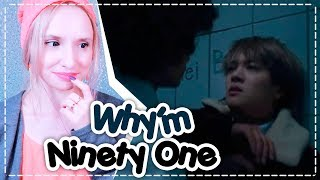 NINETY ONE - WHY'M REACTION/РЕАКЦИЯ | QPOP ARI RANG