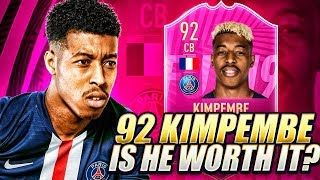 EA SPORTS TRIED TO STOP ME! INSANE FUTTIES KIMPEMBE REVIEW! FIFA 19 Ultimate Team