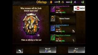 Repeat youtube video Eternity Warriors 3 200x Gem Drops