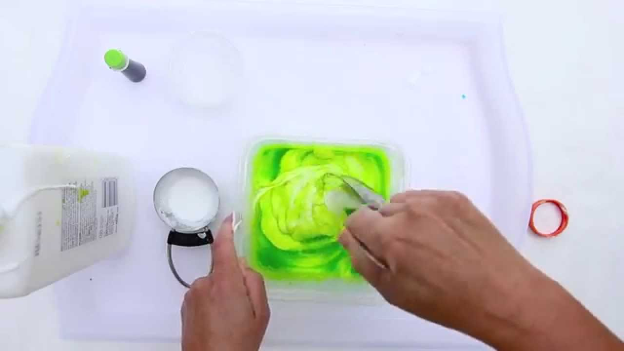 How to Make Slime Using Liquid Starch CREATIVE BASICS ...