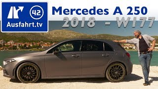 2018 Mercedes-Benz A 250 AMG-Line Edition1 (W177) - Kaufberatung, Test, Review