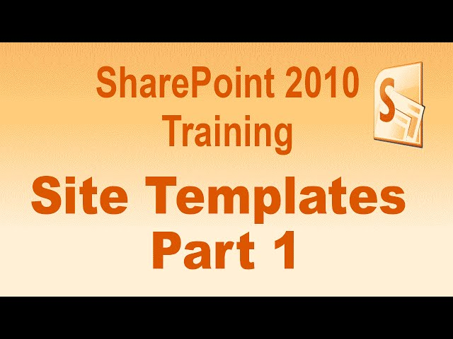 SharePoint 2010 Sites and Templates