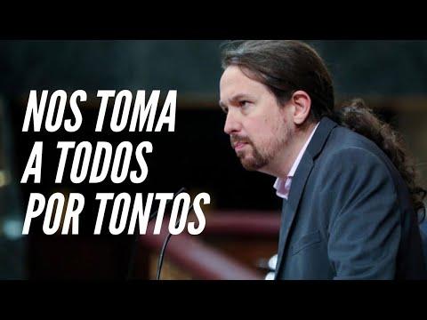 Pablo Iglesias con Matías Prats: NO responde a ninguna pregunta y dice que la culpa es del PP