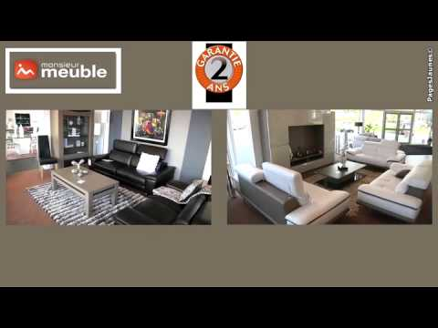 canap s salons monsieur meuble angers youtube. Black Bedroom Furniture Sets. Home Design Ideas