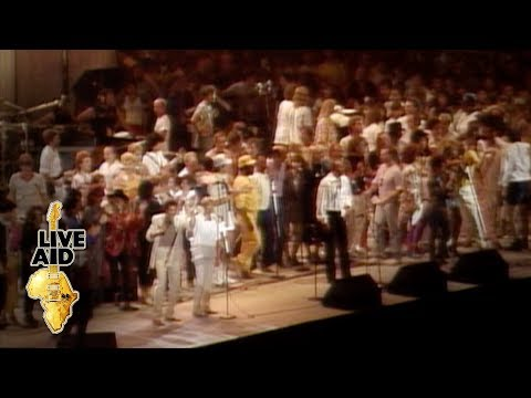 USA For Africa - We Are The World (Live Aid 1985)