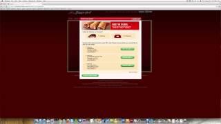 pizza hut online ordering fail