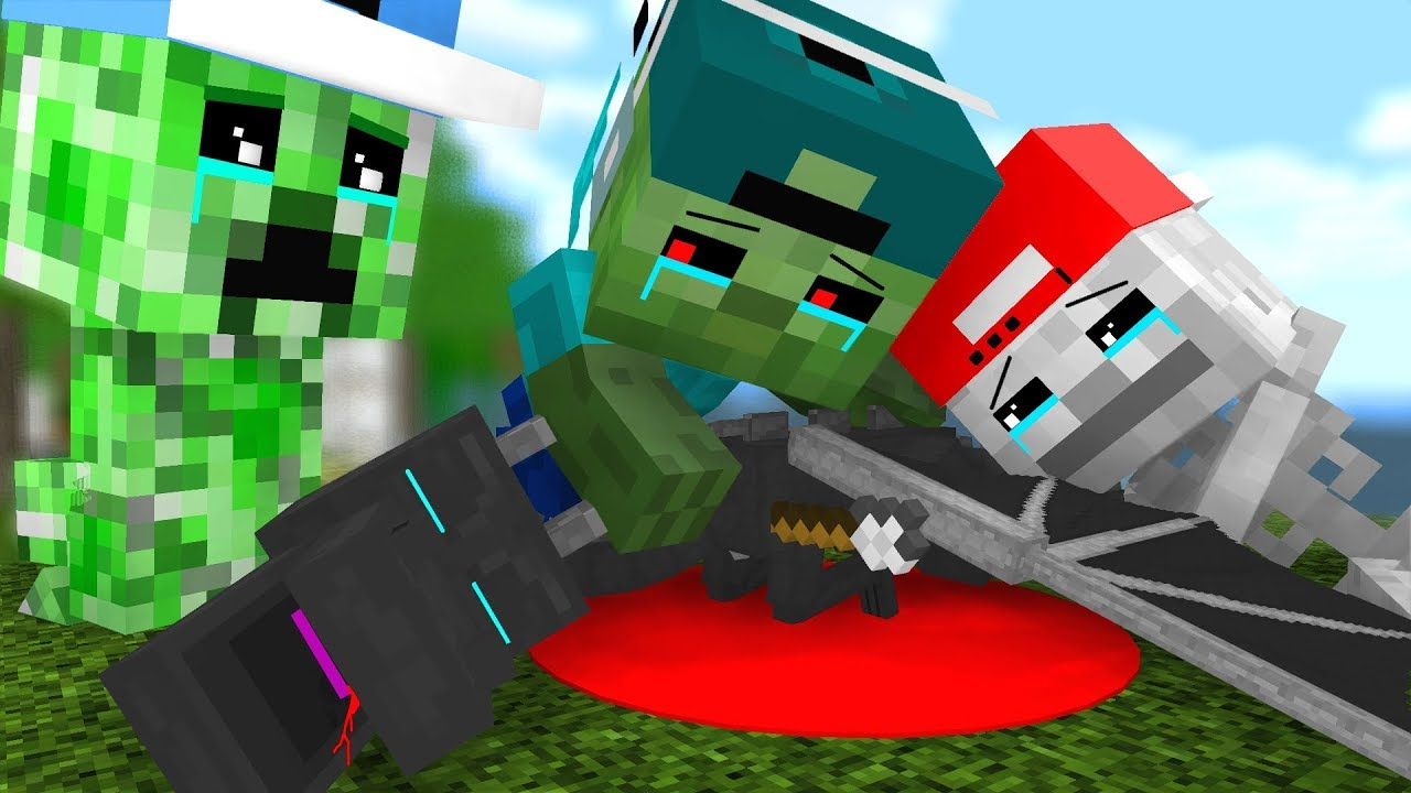 Mob Kids Life 4 Craftronix Minecraft Animation Youtube