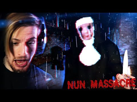 THIS GAME JUST GETS MORE TERRIFYING.. || Nun Massacre (CREEPY Horror Game)