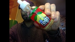 Iced Reds Apple Eliquid Review AWESOME!!