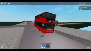 Roblox London Hackney & Limehouse Bus Simulator Scania Omnicity (Double Decker) Stagecoach Route 277