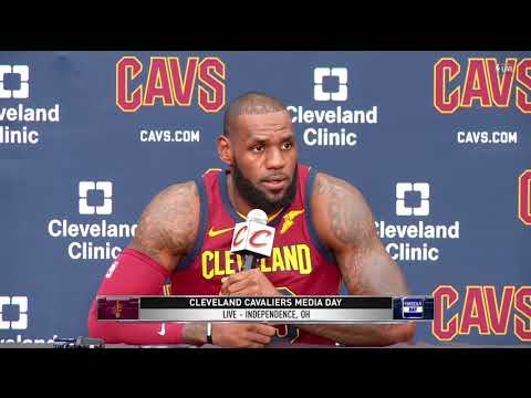 LeBron James stands by calling President Trump a 'bum'